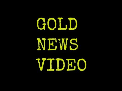 GoldNewsVideo: Gold UP, USA factory output down, dollar down, CYPRUS news