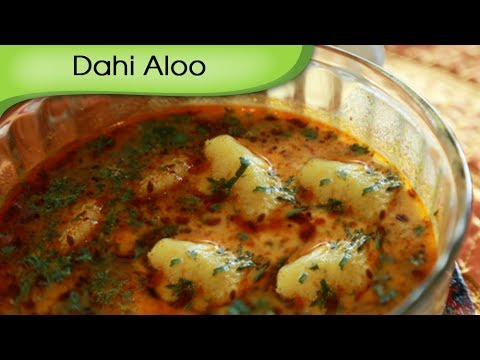 Dahi Aloo - Potato in Yogurt Gravy - Rajasthani Vegetarian Curry...