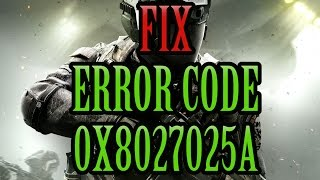 How to Fix Xbox Error Code 0x8027025A (Has Taken Too Long To Start)