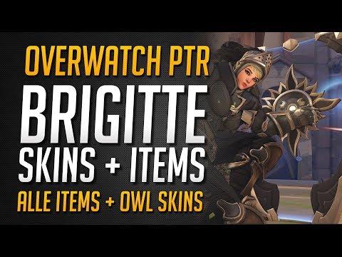 BRIGITTE UNLOCKS | Skins, Emotes, Sprüche und mehr | Alle Objekte + OWL Skins ★ Overwatch Deutsch