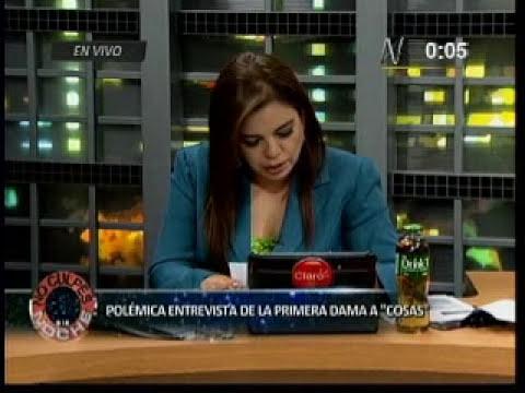 Caso Nadine Heredia: Entrevista a editora general de la revista