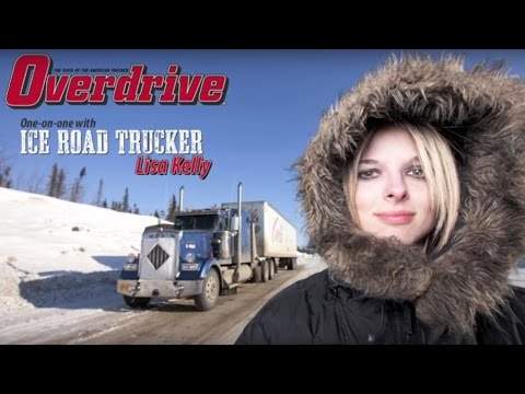 Overdrive's one-on-one with Ice Road Trucker Lisa Kelly