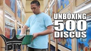 UNBOXING 500 DISCUS aquarium fish!!!