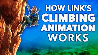 How Link's Climbing Animation Works in Breath of the Wild