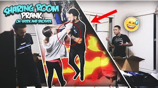 HILARIOUS I'm MOVING BACK IN & We Are SHARING YOUR ROOM Prank On Sister & Brother!!! **gone LEFT**