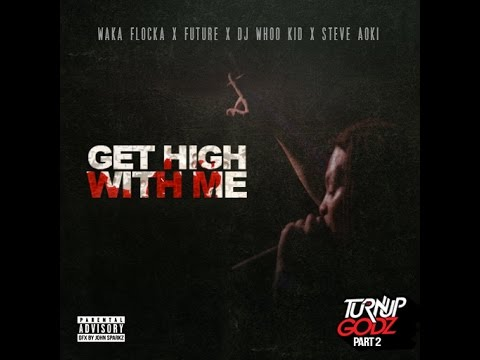 Listen To Waka Flocka, Future, DJ Whoo Kid, Steve Aoki And 808 Mafia On 'Get High With Me'