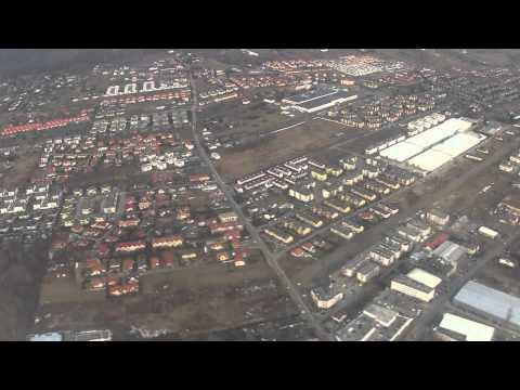 Lądowanie Na Lotnisku Chopina W Warszawie