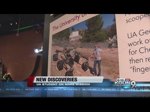 UA doctorate student helping NASA find signs of life on Mars