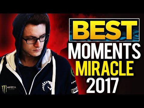 Liquid.Miracle- Tribute   Best Moments in 2017 – Dota 2