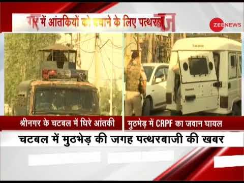 Encounter underway at Srinagar's Chattabal, CRPF jawan injured