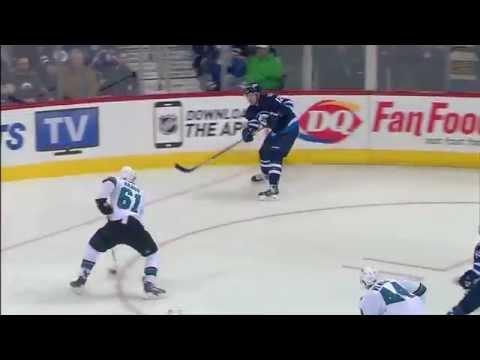 San Jose Sharks 2 x 5 Winnipeg Jets - 70º Jogo da Temporada 2014-2015 - RECAP