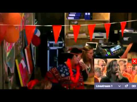 Voetbal WK Spanje Nederland tot rust nederland spanje
