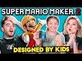 Gamers Vs. Mario Maker Levels Designed By Kids