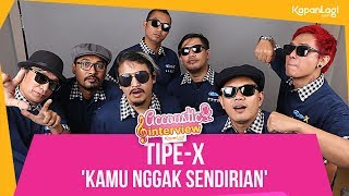 Download lagu Tipe-X - Kamu Nggak Sendirian (Acoustic Interview Part 1) gratis