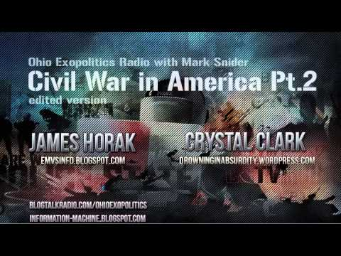 Civil War in America - Mark Snider with James Horak and Crystal Clark Pt.2