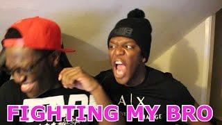 FIGHTING MY BRO