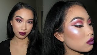 Berry Cut Crease | Holiday Makeup Tutorial 2016