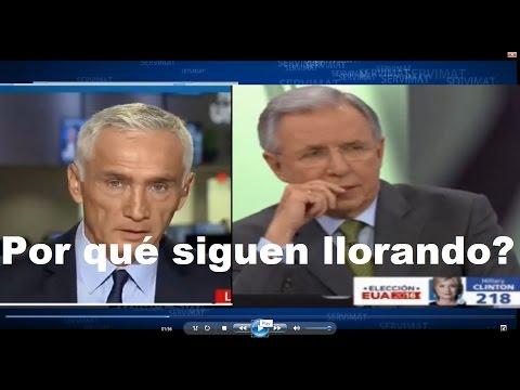 POR QUÉ TELEVISA Y JORGE RAMOS NO SUPERAN EL TRIUNFO DE DONALD TRUMP?