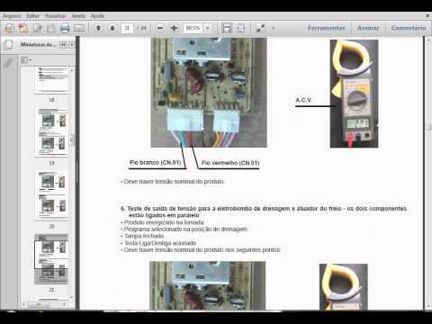 conserto de placa da maquina de lavar  electrolux  série lte