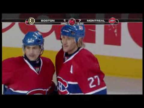 Alex Kovalev Goal vs Boston Video