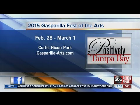 Positively Tampa Bay:  Free Art Festival