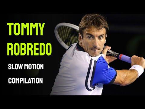 Tommy Robredo Slow Motion - Cincinnati Masters 2014
