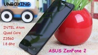 ASUS ZenFone 2. Долгожданная новинка.Распаковка. Unboxing