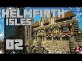 Minecraft Timelapse - Helmfirth Isles - 02 - Emerald Keep!