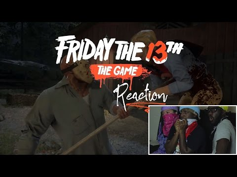 Friday the 13th: The Game (PAX West 2016 Trailer) Reaction