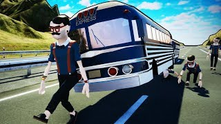 Finding the Best Way to Stop Hipsters Forever - Wrecked Crash Simulator / Destruction Simulator
