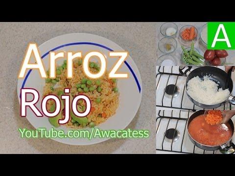 Como se hace el arroz hervido