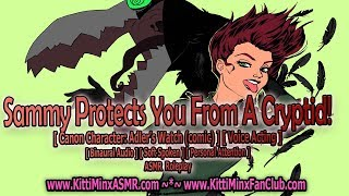 Kitti Minx ASMR - Sammy Protects You From A Cryptid! ( Voice Acting: Adler's Watch ) Audio Roleplay
