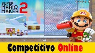 Este maldito LAG es brutal / Super Mario Maker 2 / Competitivo Online #2