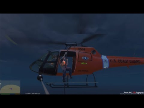 GTA 5 | Rescue Mod V By Gangrenn Day 7 | US Coast Guard Mod