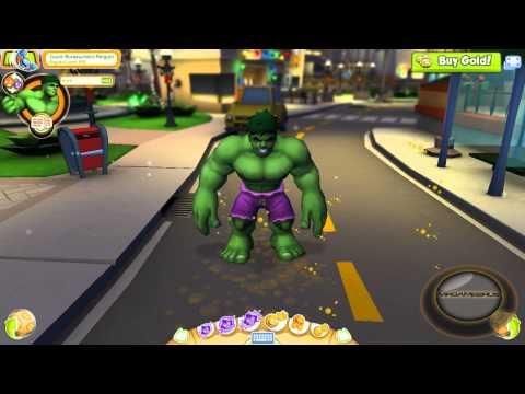 Marvel Super Hero Squad Online Power Emotes- HD