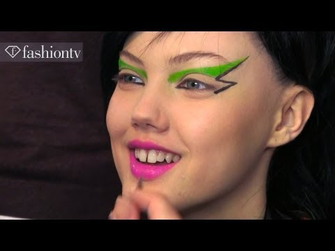 Jeremy Scott Fall/Winter 2013-14 BACKSTAGE | New York Fashion Week NYFW | FashionTV