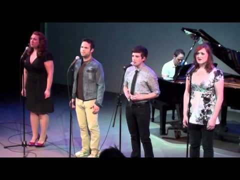 Jenn Furman, Brett Teresa, Paul Wyatt, and Tricia Tanguy sing Daybreak by Bobby Cronin