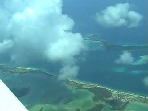 Take off From Los Roques