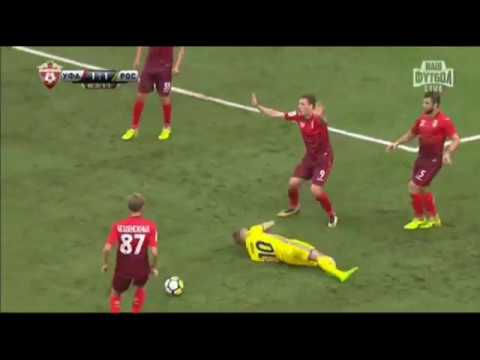 УФА - РОСТОВ 1:4 Обзор матча РФПЛ 5 тур 12.08.17