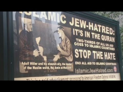 Anti-islam Ads Hit New York Streets video