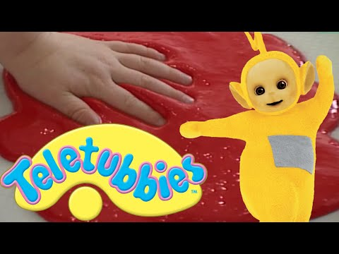 Teletubbies: Painting With Our Hands And Feet - Hd Video video