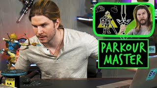 Link the Parkour Master | Because Science Footnotes