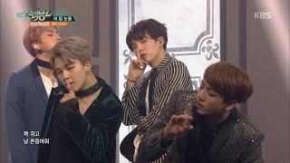 MUSIC BANK 뮤직뱅크 - BTS 방탄소년단 - Blood Sweat & Tears 피 땀 눈물 .20161014