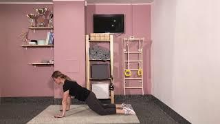 Упражнения со скользящими дисками / слайдерами от PRO Athletic Gear