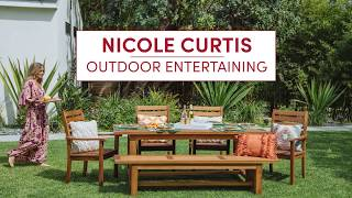 Outdoor Entertaining with Nicole Curtis – Cost Plus World Market