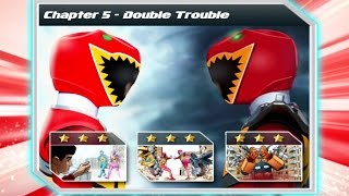 POWER RANGERS: DINO CHARGE RUMBLE - Chapter 5 - DOUBLE TROUBLE