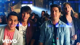 Клип Big Time Rush - Music Sounds Better With U ft. Mann