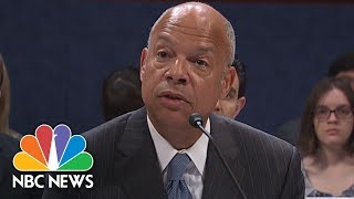 Former DHS Secy.: Vladimir Putin Orchestrated Election Cyber Attacks, 'Plain And Simple' | NBC News
