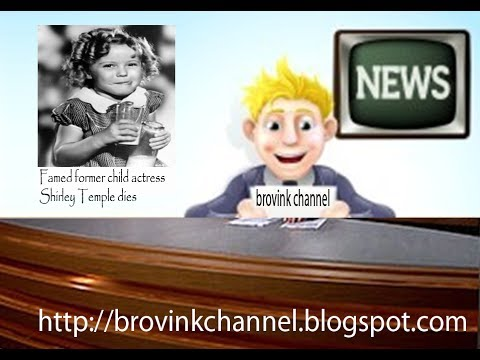 Shirley Temple dies