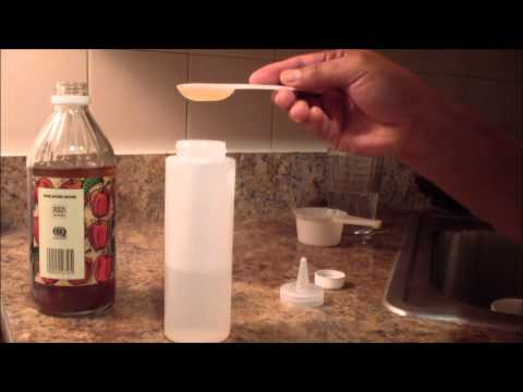 natural hair: APPLE CIDER VINEGAR RINSE  (moisture and shine)